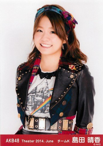 AKB48 公式生写真 Theater 2014.June 月別06月 【島田晴香】