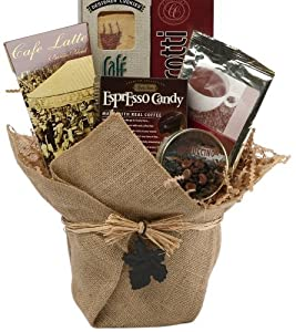 Espresso Yourself Coffee Lovers Gift Basket by Art of Appreciation Gift Baskets