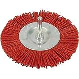 Silverline 589713 Brosse circulaire nylon 100 mm grossier