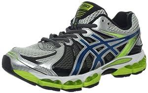 ASICS Men's GEL-Nimbus 15 Running Shoe,Lightning/Blue Steel/Lime,10.5 M US