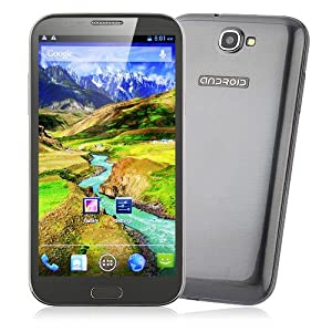 BW Star S7589 Smart Phone MTK6589 Quad Core 5.8 Inch HD Screen Android 4.1 1G RAM Grey