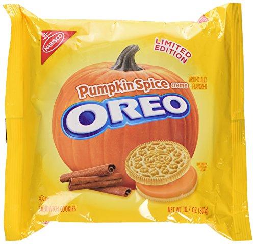 Pumpkin Spice Oreo Cookies Limited Edition Seasonal, 10.7 Oz