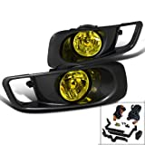 Honda Civic Ex Dx Lx Gx Hx Sedan Coupe 2 4 Door, Yellow Fog Lights Black Case