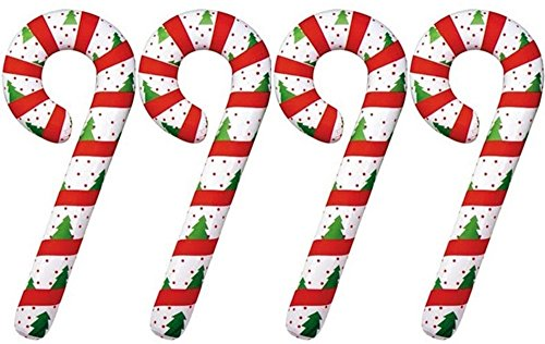 "Set of 4 Inflatable CANDY CANES 44"" - Christmas Holiday DECORATIONS/Inflates/DECOR - 1"