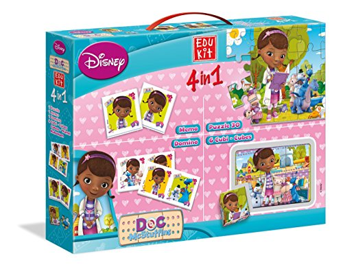 Educational set 4 in 1 Clinic for Soft toys