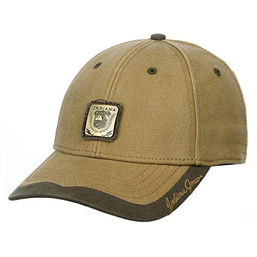 Indiana Jones Baseball Cap berretto da baseball berretto outdoor talla £nica - cammello