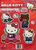 Hello Kitty Wall Sticker Set - Car