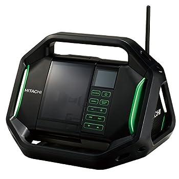 日立工機 14.4V 18V コードレスラジオ 充電式 AC100V使用可 蓄電池・充電器別売り UR18DSAL(NN) 本体のみ