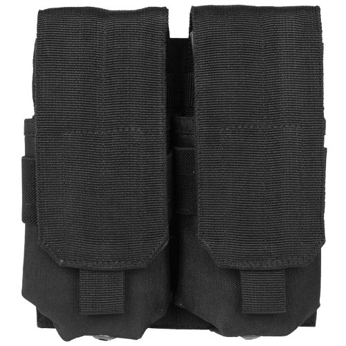 Combat Tactical Double M4/M16 Magazine Pouch MOLLE System Airsoft Shooting Black