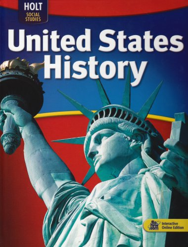 Reviews: Holt McDougal United States History: Student