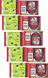 10 (Ten) Packs of 2015 Panini FIFA Womens World Cup Soccer Canada Stickers (Soccer Card Stickers) 10 Packs