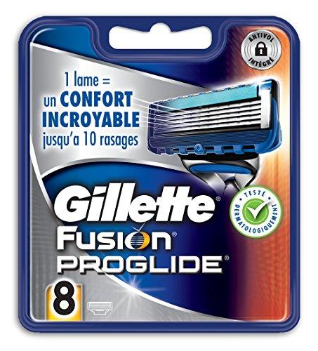 Gillette - Lamette da rasoio Fusion ProGlide, confezione da 8 ricariche