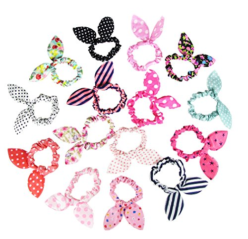 HipGirl Boutique Girls Pony Holder Value Pack (15pc 3.5