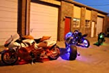 Ultimate Multi-color Luxury Motorcycle Led Kit w/ Wireless Remote Control thumbnail