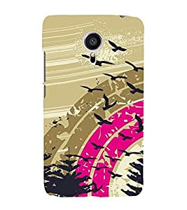 Vizagbeats Flying birds Back Case Cover for MEIZU MX 5