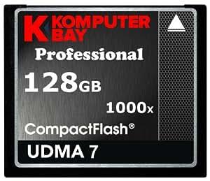 Komputerbay 128GB Professionelle COMPACT FLASH CARD CF 1000X 150MB/s Extreme Speed UDMA 7 RAW 128 GB