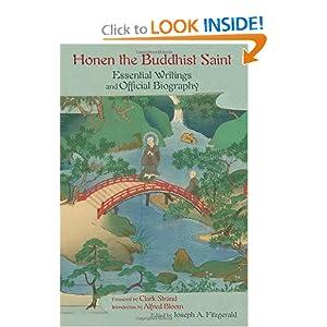 Honen The Buddhist Saint - Joseph A. Fitzgerald