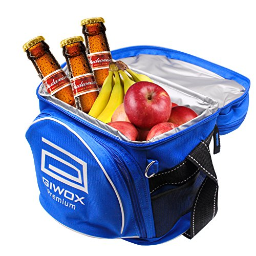 GIWOX-Outdoor-Soft-Cooler-Picnic-Bag-Cooler-Tote-Insulated-Lunch-Bag-with-Adjustable-Shoulder-Straps-for-Camping-BBQs-Blue