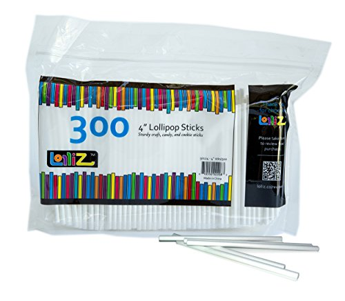 For Sale! LolliZ 4 Lollipop Sticks 300 Count