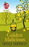 Golden Malicious (Orchard Mystery: Wheeler Publishing Large Print Cozy Mystery)