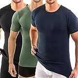 HERMKO 3840 3er Pack Herren kurzarm Business Shirt,...
