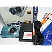 SONY デジタルカメラ Cybershot (720万画素/光学x4/デジタルx8/ブルー) DSC-W120 L