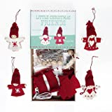 Felt craft kit christmas Friends decorationsby dotcomgiftshop