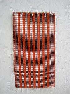 indoor outdoor woven recycled plastic mat 28x53. Black Bedroom Furniture Sets. Home Design Ideas
