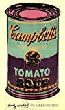 (24x40) Andy Warhol Campbell's Soup Can 1965 Green & Purple Art Print Poster