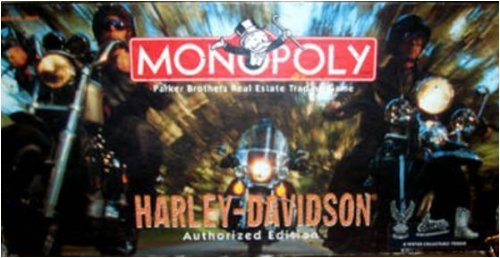 Harley-Davidson MONOPOLY *Authorized Edition* 1997