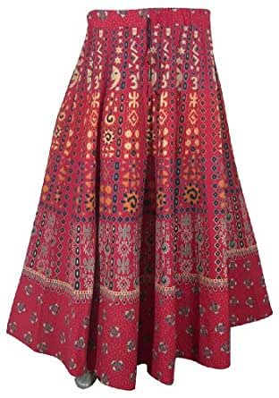 Wonderful Long New Designer Summer Women Skirts India Ethinc Skirt Dress2401