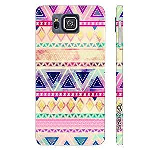 Samsung Alpha G850F Aztec Art 5 designer mobile hard shell case by Enthopia