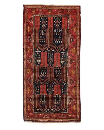 "Bashian Belouj Hand-Knotted Rug, Dark Blue, 4' 3"" x 8' 10"""