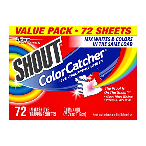 Shout Color Catcher Dye Trapping Sheets, 72.0 Count (Shout Color Catcher Sheets compare prices)