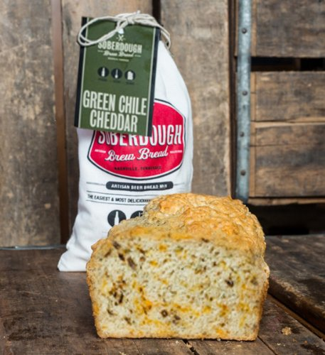 Soberdough Green Chile Cheddar Beer Bread Mix 16 Oz | eBay