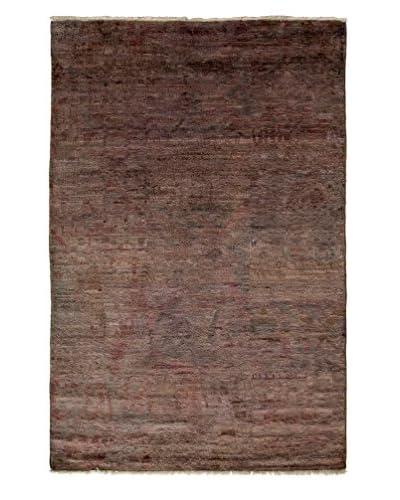 Darya Rugs Moroccan Oriental Rug, Silver, 3' 10 x 5' 10