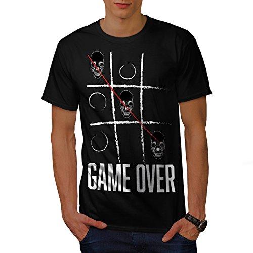 tic-tac-doigt-de-pied-crane-gaming-homme-nouveau-noir-xl-t-shirt-wellcoda