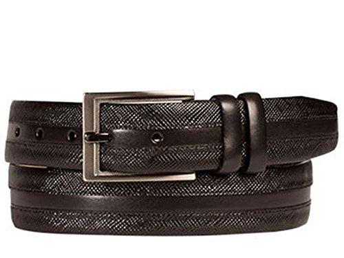 Mezlan Mens Ao10241 Belt , Black, 38 Medium (AO10241)