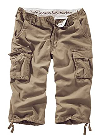 Surplus Trooper Legend 3/4 Shorts, beige, Größe S