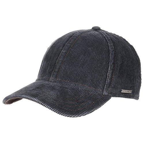 plano-corduroy-berretto-a-coste-stetson-cappello-a-coste-cotton-cap-m-56-57-blu
