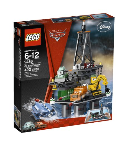 51ggTOCt5tL Buy  LEGO Cars Oil Rig Escape 9486