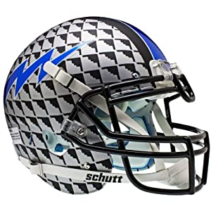 AIR FORCE FALCONS Schutt AiR XP Full-Size AUTHENTIC Football Helmet (STEALTH BOMBER) by ON-FIELD