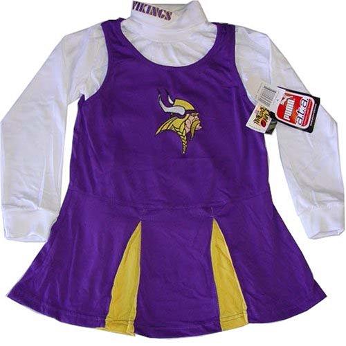 Minnesota Vikings Baby Cheerleader Outfit Price pare