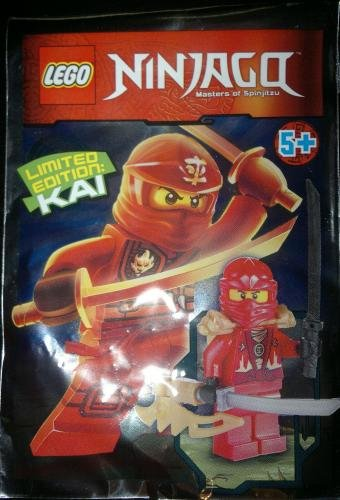 LEGO Ninjago Minifigure - Kai Rebooted Techno Limited Edition with Weapons (891501) - 1