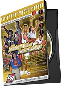 Better Post Play Instructional Basketball DVD by Better Basketball