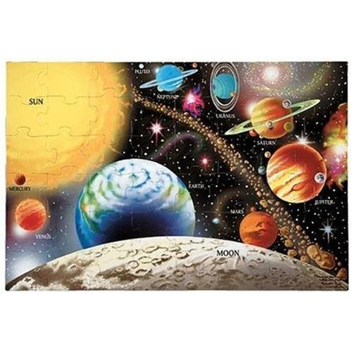 Cheap Fun Melissa & Doug Solar System Floor Puzzle (48pc) (B000GKSA7E)