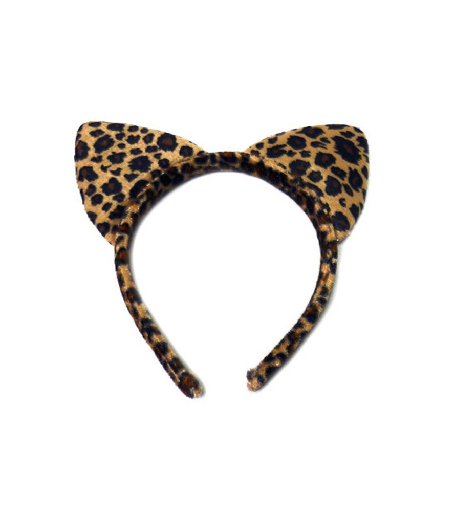 Leopard ears headband