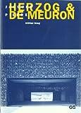 Jacques Herzog & Pierre de Meuron (Spanish) (Spanish Edition) (842521792X) by Wilfried Wang