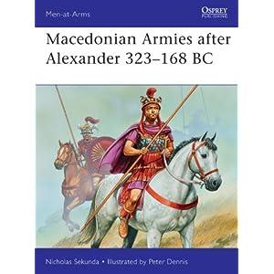 Macedonian Armies after Alexander, 323-168 BC (Men-at-Arms) [Paperback]