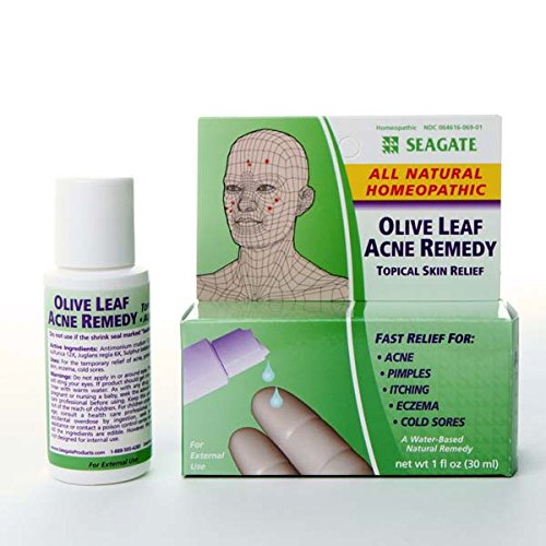 Olive Leaf Acne Remedy -1 Oz Liquid